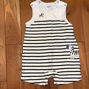 Little Me One Pieces - EUC Little Me Zebra Tank Top Onesie